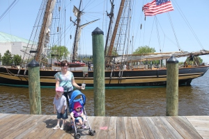 Mimi and her loves in Annapolis, MD