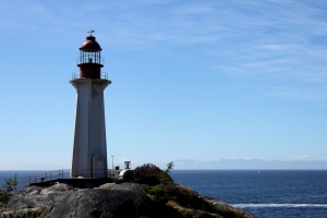 Lighthouse in West Vancouver, BC, Canada