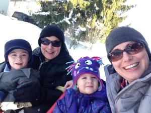 Mimi, Momma, and the kiddos