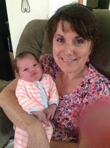 Aunt Debbie and Remington Kimber Wells