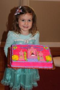 Princess Lillie celebrating her 3rd birthday
