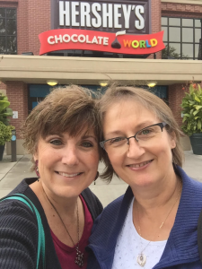 Best Buds at Hershey Chocolate World
